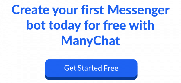 create your first messenger bot with ManyChat