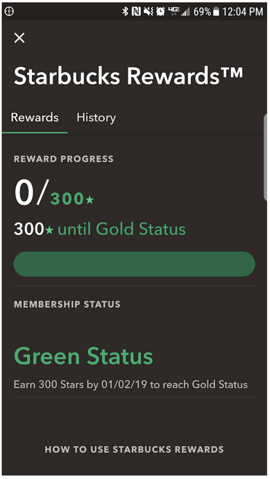 starbucks rewards loyalty program example | manychat