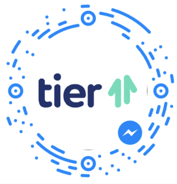 tier 11 facebook chatbot messenger scan code